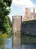 Moat and Bishops Palace Royalty Free Stock Photo