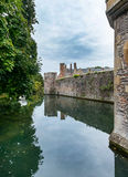 Moat of the Bishops Palace Stock Photos