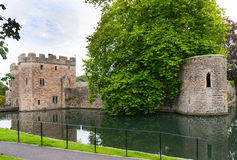 Moat of the Bishops Palace Royalty Free Stock Image