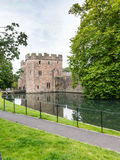Moat of the Bishops Palace Royalty Free Stock Photography