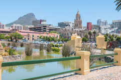 Moat,  Cape Town central business district and Lions Head Stock Photos