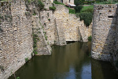 Moat of a castle Royalty Free Stock Images