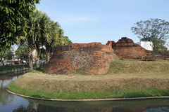Moat in Chiang Mai Royalty Free Stock Photo