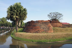 Moat in Chiang Mai Royalty Free Stock Photos