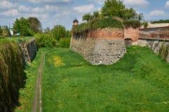Moat Dubno fortress. Ukraine Royalty Free Stock Photos