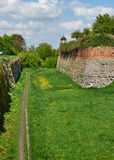 Moat Dubno fortress. Ukraine Stock Images