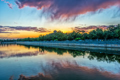 Moat of Forbidden City Royalty Free Stock Photography