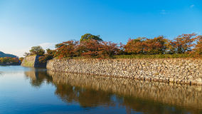 The  Moat of Himeji Castle in Hyogo Prefecture Stock Images