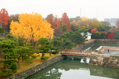 Moat at Nijo Castle Royalty Free Stock Images