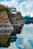 Moat of Osaka Castle in Osaka Royalty Free Stock Image