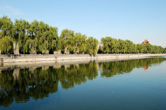 Moat, The Forbidden City Royalty Free Stock Image