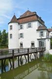 Moated Castle Bottmingen - Wasserschloss Bottmingen Stock Photos