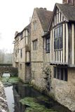 Moated House Royalty Free Stock Photography