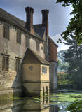 Moated house, Warwickshire Royalty Free Stock Photos