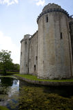 Moated kasztel, Nunney, Somerset Zdjęcie Royalty Free