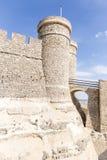 Moated kasztel w Szynszyli De Monte Aragon Obraz Royalty Free
