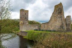 Moated Schloss, Wasserburg Baldenau, Deutschland Lizenzfreie Stockfotos