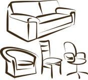 Mobília Imagens de Stock
