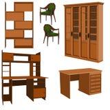Mobília. ilustração stock