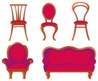 Mobília Imagens de Stock Royalty Free