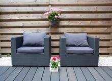 Mobília confortável do projeto Fotos de Stock