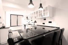 Mobília da cozinha Foto de Stock Royalty Free