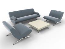 Mobília de escritório Imagem de Stock