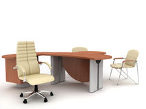 Mobília de escritório Foto de Stock Royalty Free