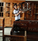 Mobília de madeira Fotografia de Stock Royalty Free