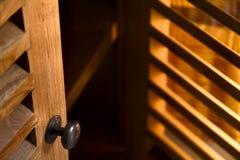 Mobília de madeira Fotografia de Stock