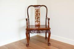 Mobília de madeira vermelha chinesa (do jacarandá) imagem de stock