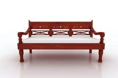 Mobília do banco de Lind Imagem de Stock