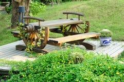 Mobília do jardim Fotos de Stock Royalty Free