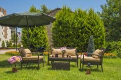 Mobília do jardim imagem de stock royalty free