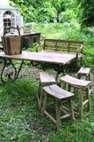 Mobília do parque Fotografia de Stock