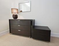 Mobília do quarto Foto de Stock Royalty Free