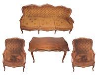 Mobília e cadeira Fotografia de Stock