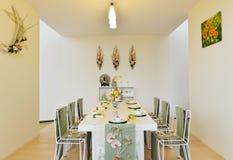 Mobília e decoração chinesas Foto de Stock Royalty Free