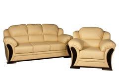 Mobília estofada Fotografia de Stock Royalty Free