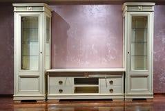 Mobília luxuosa com punho dourado Fotos de Stock Royalty Free