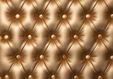 Mobília luxuoso de estofamento de couro Imagem de Stock Royalty Free