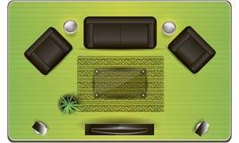 Mobília no  Fotografia de Stock Royalty Free