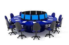 Mobília para a conferência Foto de Stock