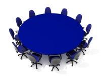 Mobília para a reunião Foto de Stock
