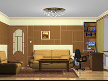 Mobília para a sala de visitas Imagem de Stock