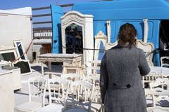 Mobília para a venda imagens de stock royalty free