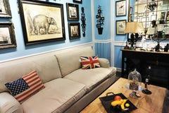 Mobílias retros Fotografia de Stock Royalty Free
