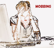 Mobbing, bullying Royalty Free Stock Photography