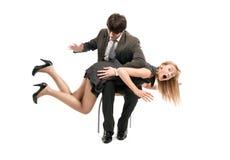 Mobbing at work Royalty Free Stock Images