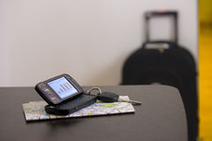 Mobiel Bureau Royalty-vrije Stock Afbeeldingen